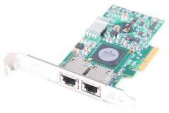 IBM Netxtreme II 10/100/1000 Mbit/s Network card PCI-E Dual Port 49Y4205