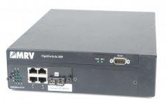 MRV Optiswitch-200 EM2004-4T+F 4 Port Switch