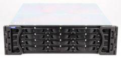 Infortrend EonStor ES F16F-S2J2 FC-to-FC JBOD Subsystem, single SES module, 16x Fiber Channel Bay