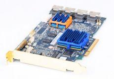 ICP ICP5165BR/256MB SAS/SATA II RAID Controller 256 MB Cache PCI-E 4-port mini-SAS SFF-8087