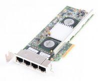 IBM NetXtreme II 1000 Quad Port 10/100/1000 Mbit/s Network card - 49Y7949 - low profile