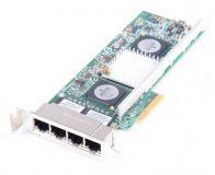 IBM NetXtreme II 1000 Quad Port 10/100/1000 Mbit/s Network card - 49Y4222 - low profile