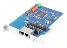 Cologne Chip Dual Port ISDN Controller, PCI-E - HFC-4S