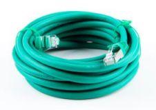 cat.7 patchkabel netzwerkkabel network cable rj45 cat.6a stecker connector 5m green